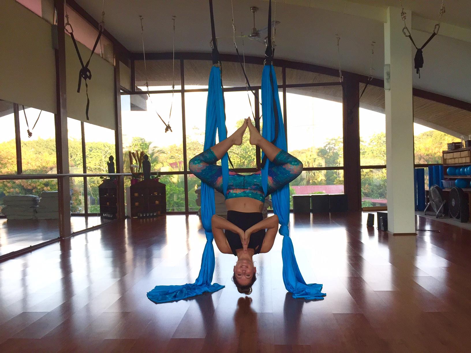 Aerial Yoga Teacher Training Holis Wellness Center Manuel Antonio Costa Rica